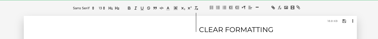 clear-formatting